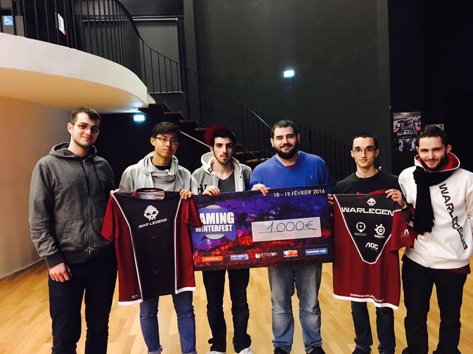 La première équipe avait notamment remporté la Gaming Winterfest