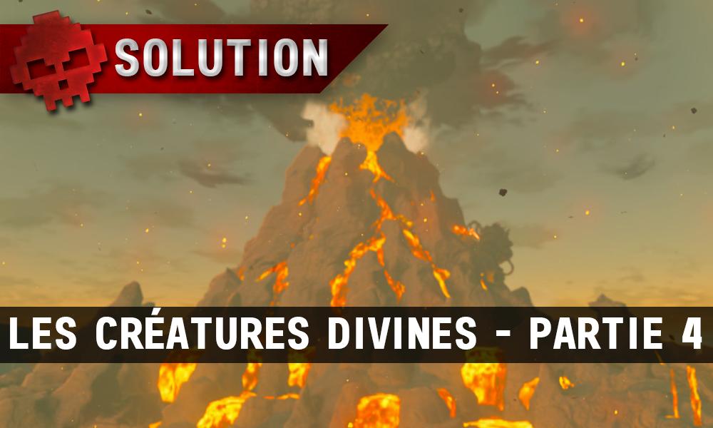 Soluce complète de Zelda Breath of the Wild les créatures divines partie 4