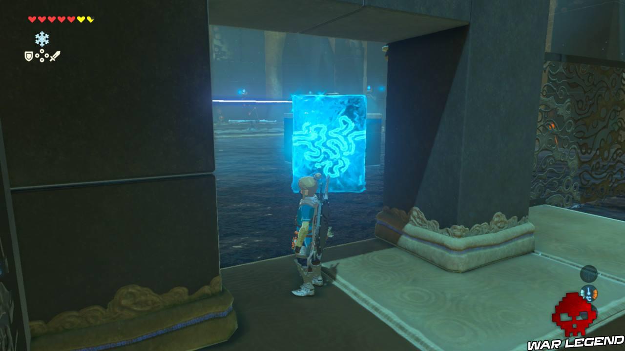 Soluce The Legend of Zelda: Breath of the Wild - Les créatures divines partie 1 bloc de glace