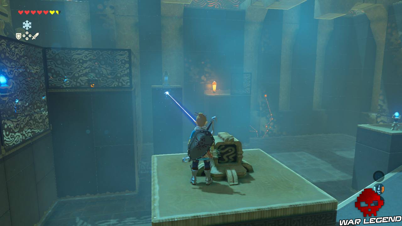 Soluce The Legend of Zelda: Breath of the Wild - Les créatures divines partie 1 laser cristal