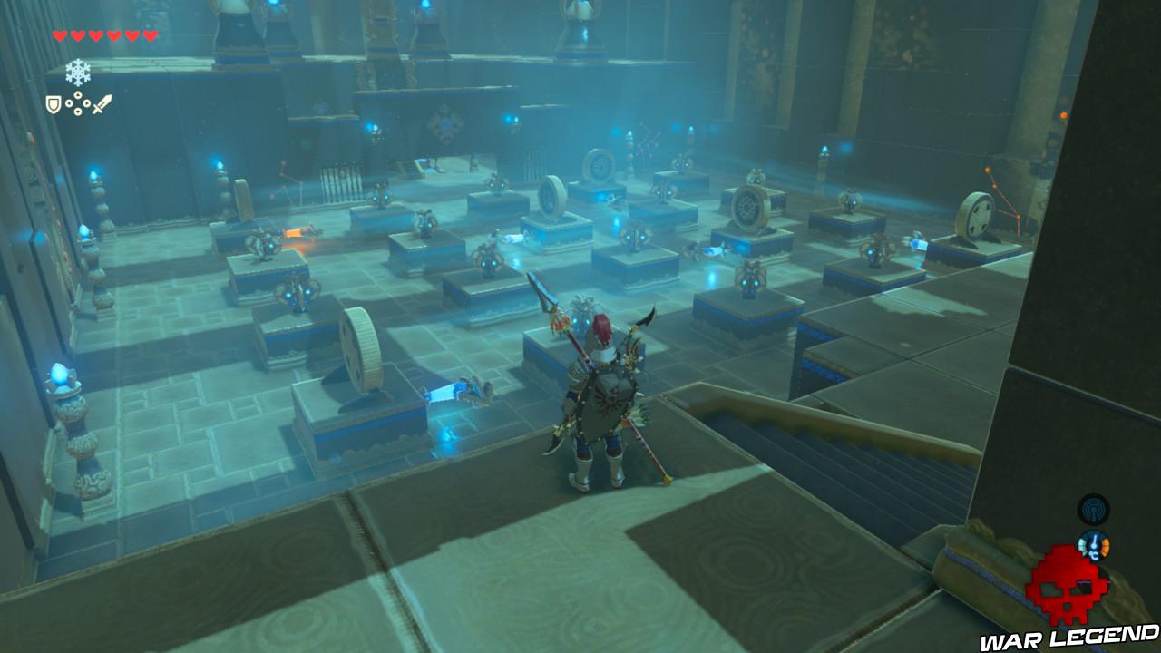 Soluce The Legend of Zelda: Breath of the Wild - Vah'Medoh partie 1 tourniquets