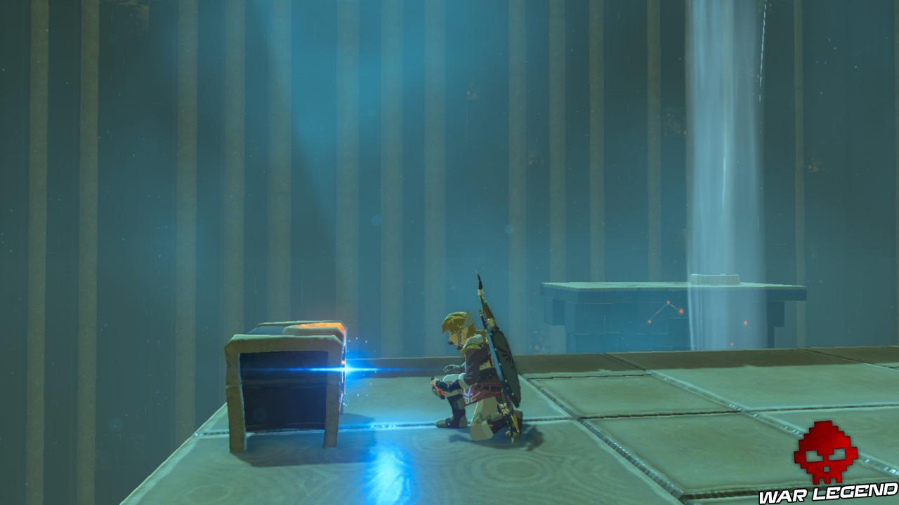 Soluce The Legend of Zelda: Breath of the Wild - Vah'Medoh partie 1 coffre