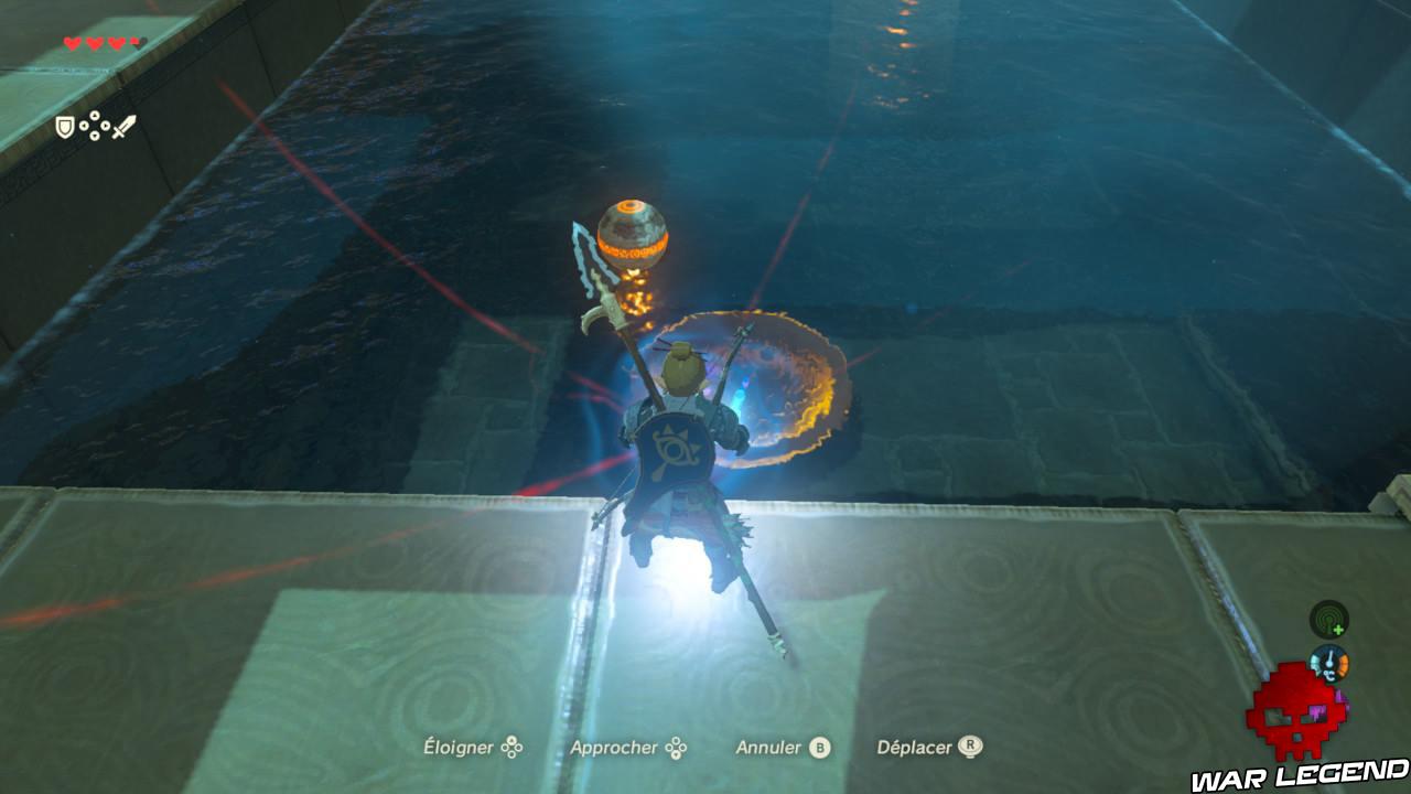 Soluce The Legend of Zelda: Breath of the Wild - Les créatures divines partie 1 polaris bol métallique