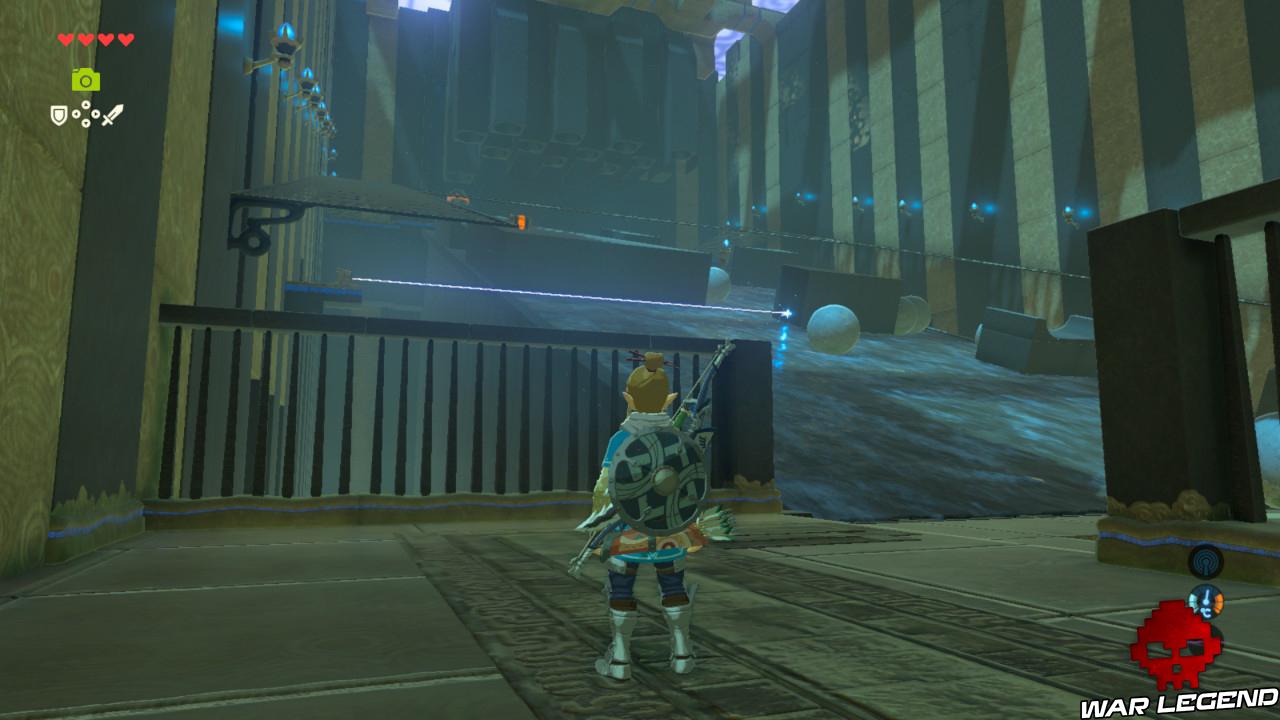 Soluce The Legend of Zelda: Breath of the Wild - Vers le domaine Zora pente eau