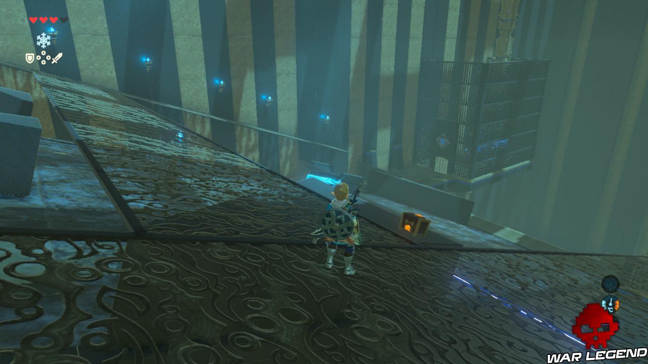 Soluce The Legend of Zelda: Breath of the Wild - Vers le domaine Zora coffre