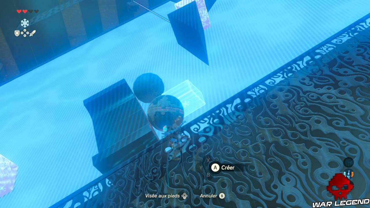Soluce The Legend of Zelda: Breath of the Wild - Vers le domaine Zora deux boules