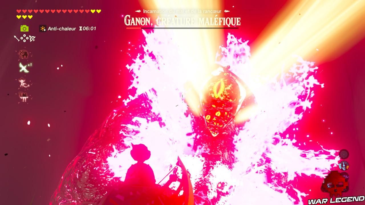 Soluce The Legend of Zelda: Breath of the Wild - Abattre Ganon partie 3 tir arc