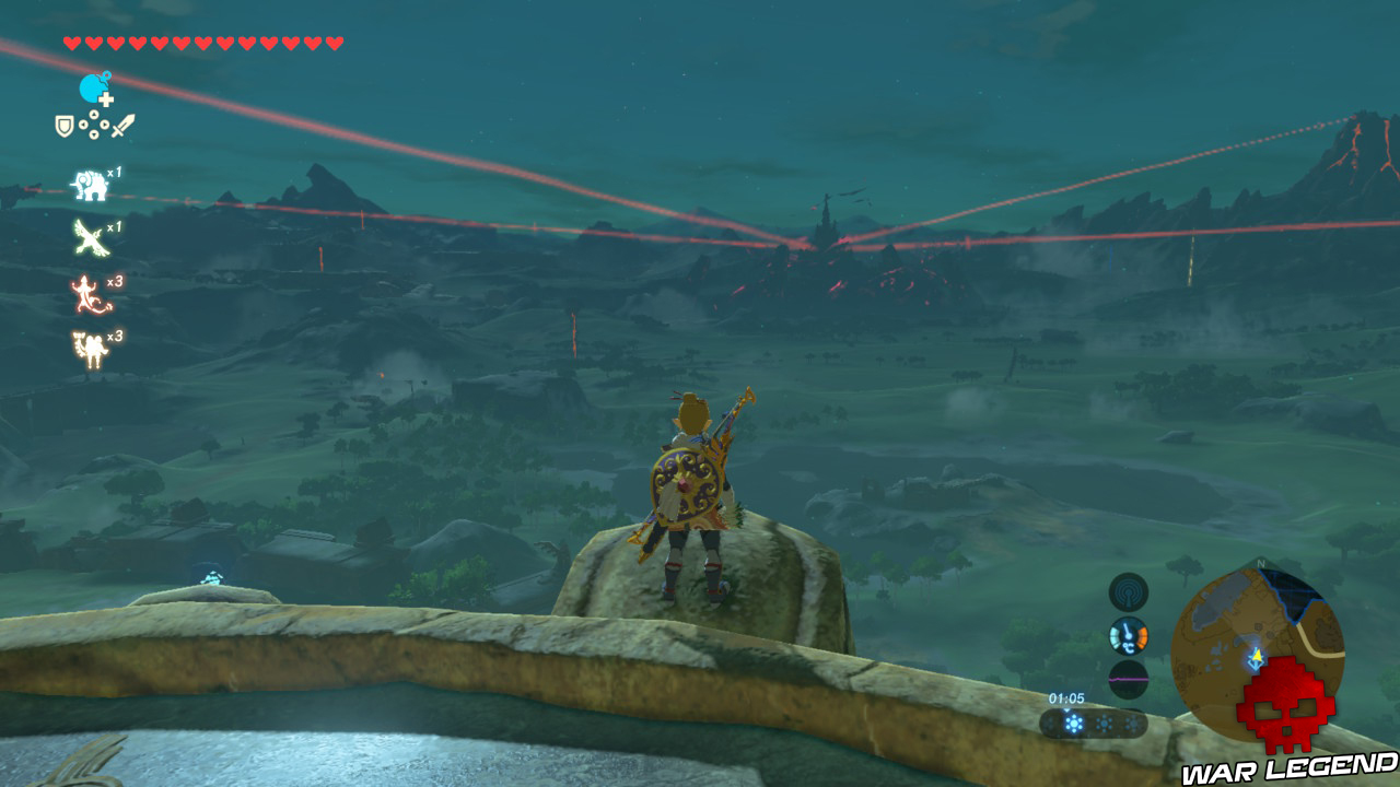 Test The Legend of Zelda: Breath of the Wild - Quand la modernité transcende la tradition Link en haut d'une tour