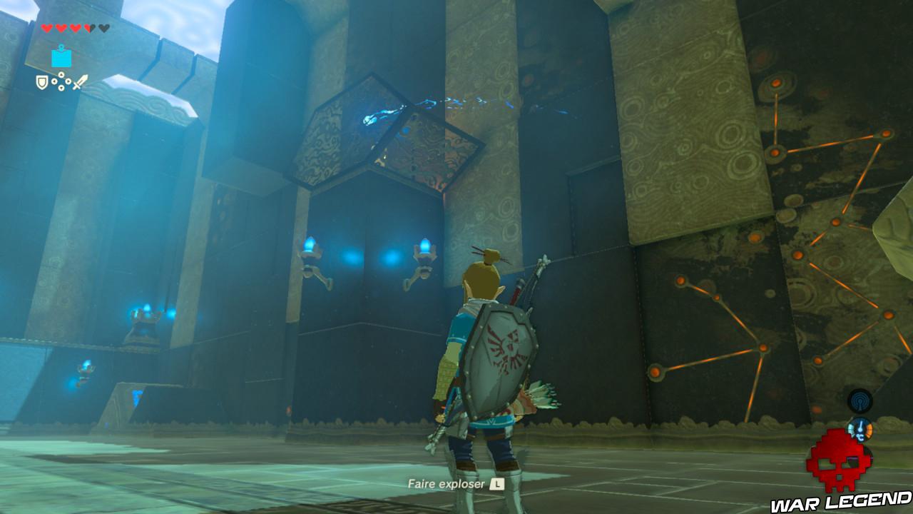 Soluce The Legend of Zelda: Breath of the Wild - Vah'Naboris partie 1 sanctuaire