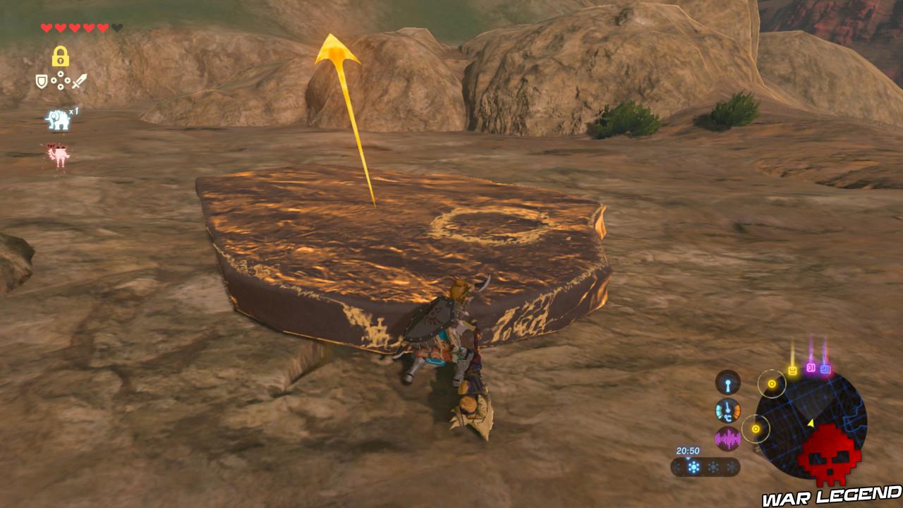 Soluce The Legend of Zelda: Breath of the Wild - Les créatures divines partie 3 Cinetis