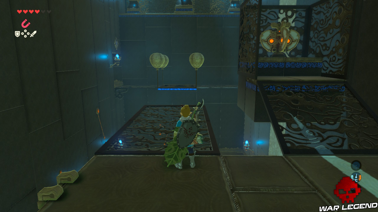 Soluce The Legend of Zelda: Breath of the Wild - Les créatures divines partie 3 plateforme ballons
