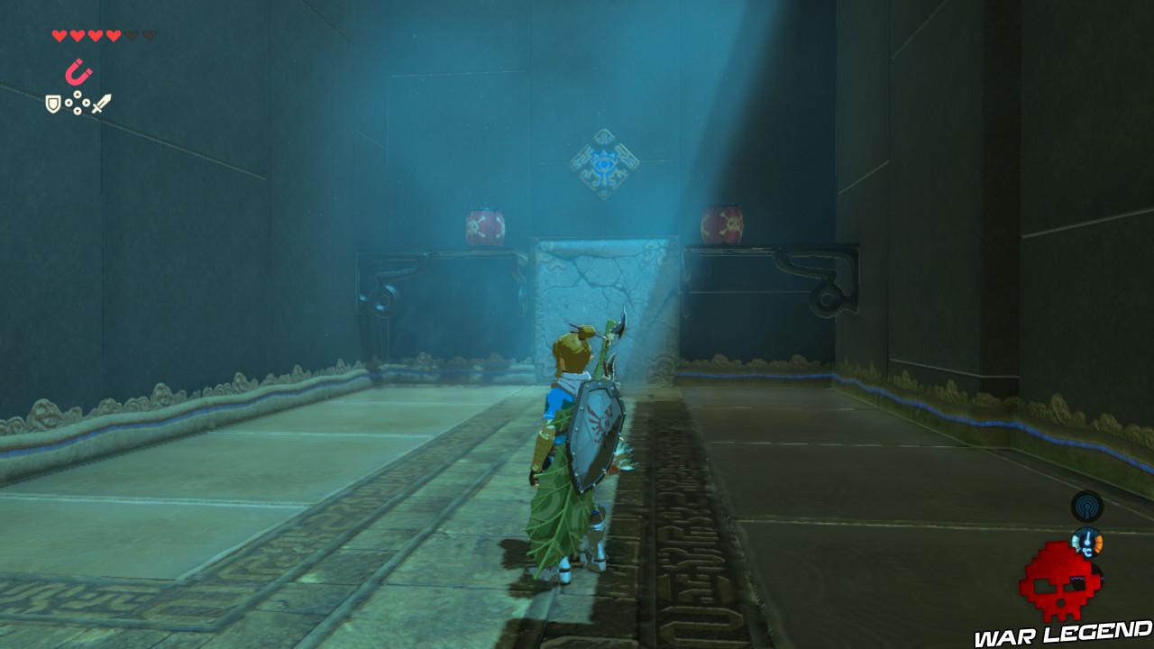 Soluce The Legend of Zelda: Breath of the Wild - Les créatures divines partie 3 explosifs