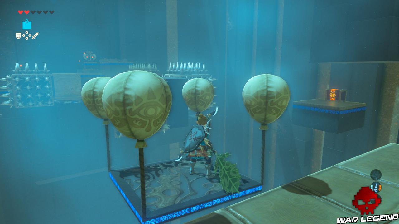 Soluce The Legend of Zelda: Breath of the Wild - Les créatures divines partie 3 coffre