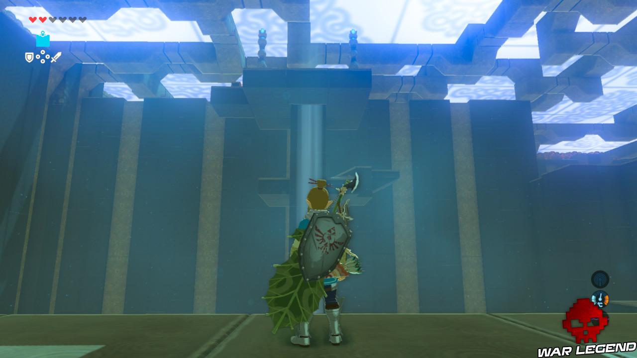Soluce The Legend of Zelda: Breath of the Wild - Les créatures divines partie 3 tour