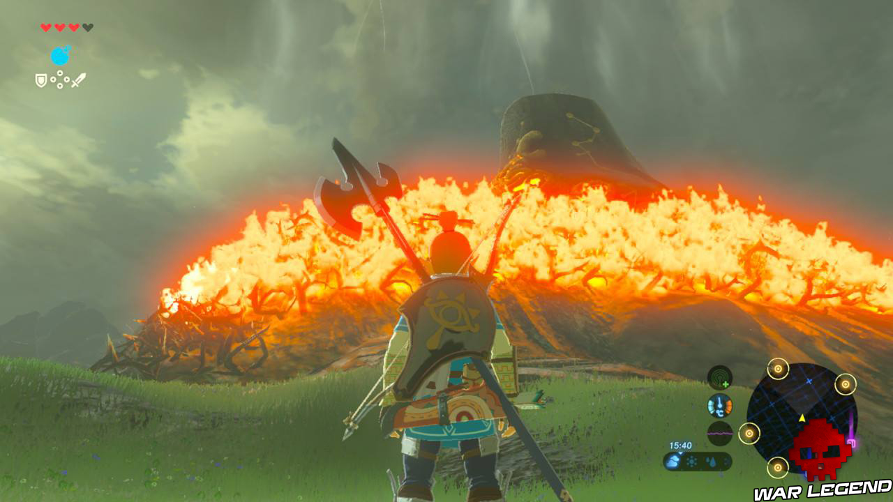 Soluce The Legend of Zelda: Breath of the Wild - Les créatures divines partie 1 FLAMMES