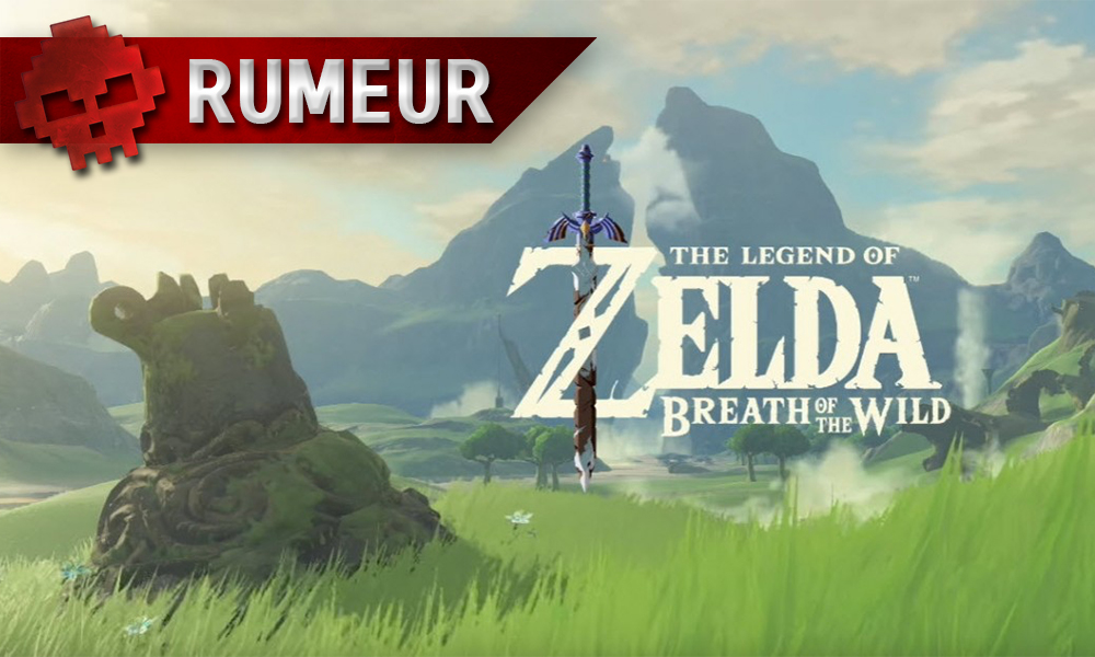 Pas de Zelda Breath of the Wild au lancement de la Nintendo Switch paysage- War Legend
