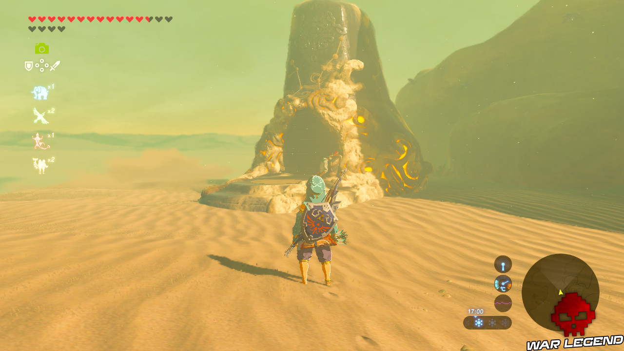 Soluce The Legend of Zelda: Breath of the Wild - Sanctuaires des Landes Sauvages