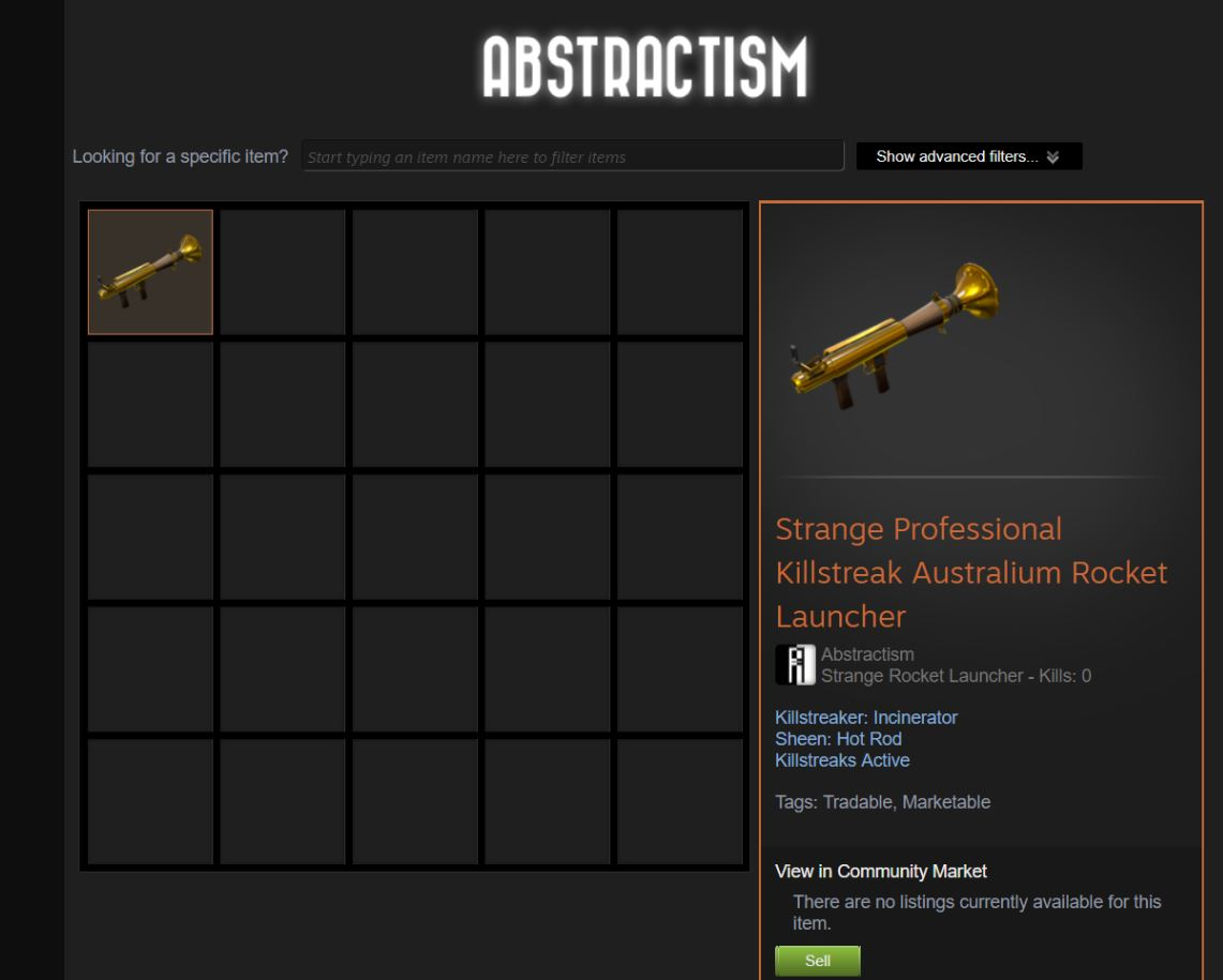 abstractism lance-roquette TF2 arnaque