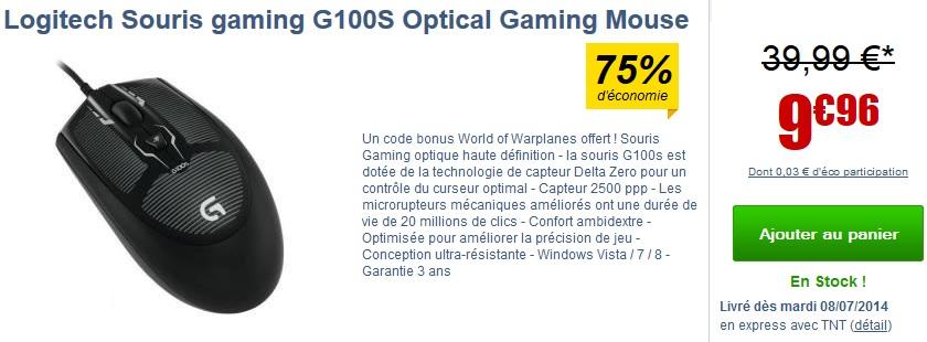 acheter-souris-logitech-g100s-prix-bon-plan