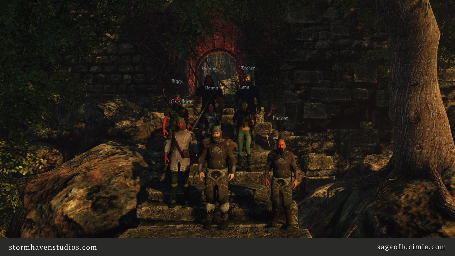 Un groupe de joueurs prennent la pose