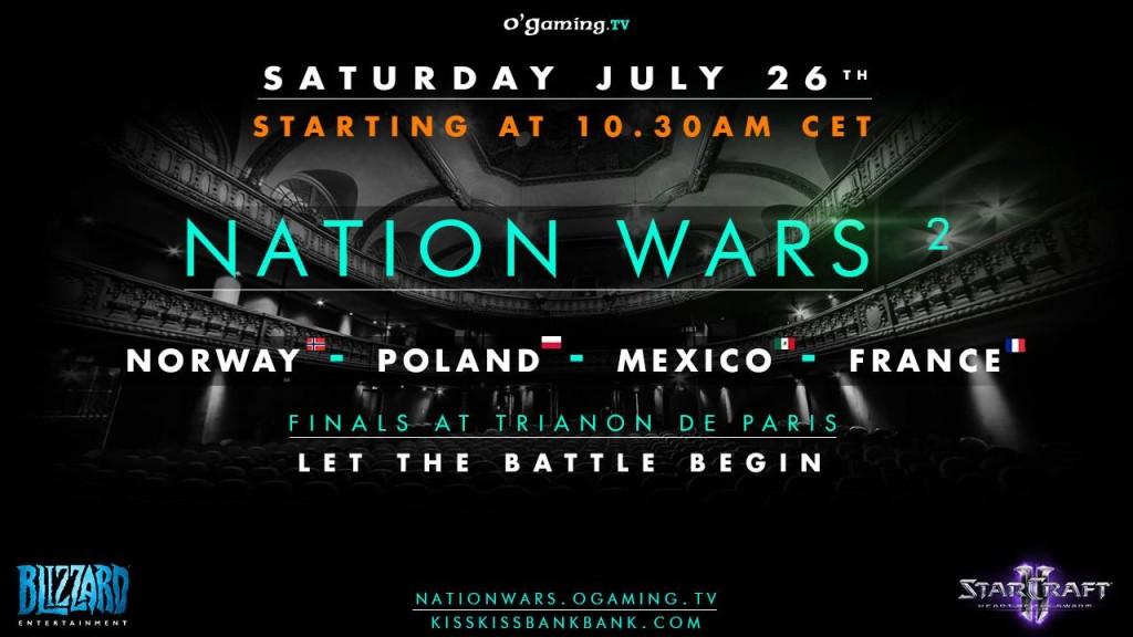 affiche nation wars
