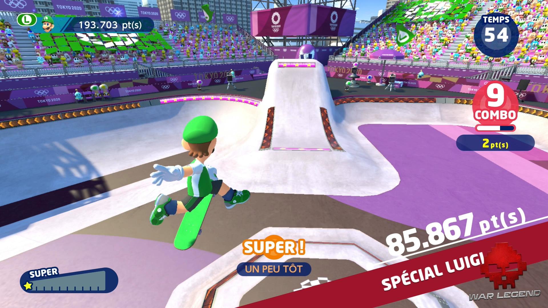 Aperçu Mario Sonic Aux Jeux Olympiques De Tokyo 2020