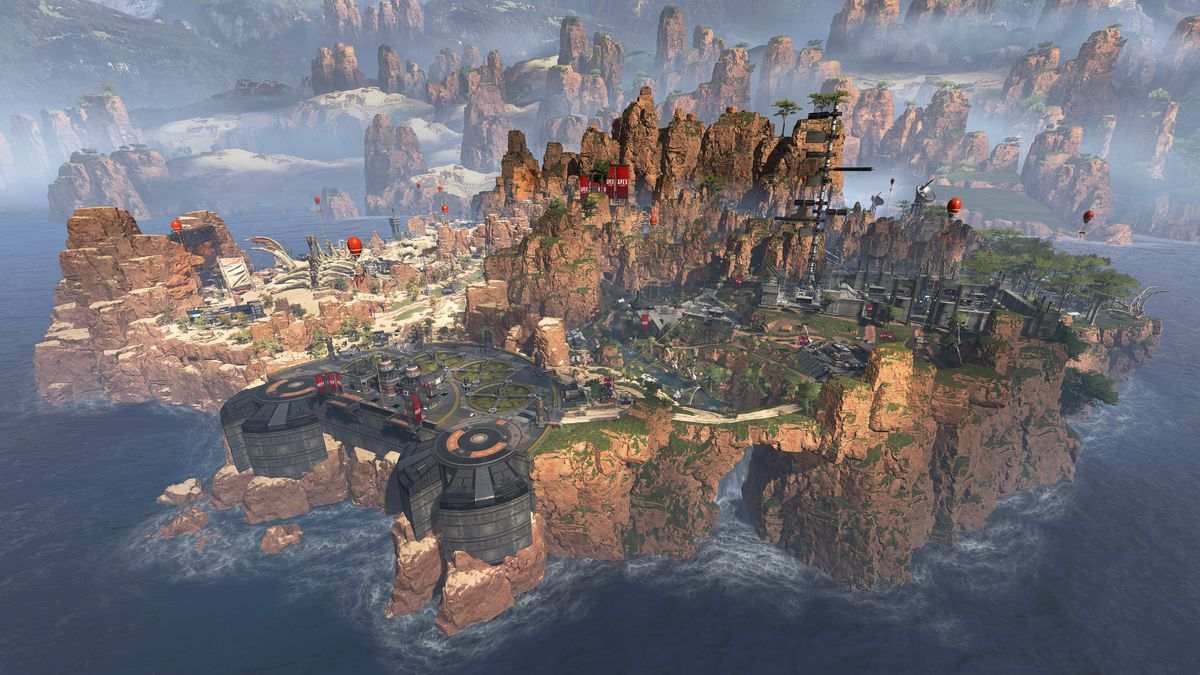Test Apex Legends - Carte d'Apex Legends