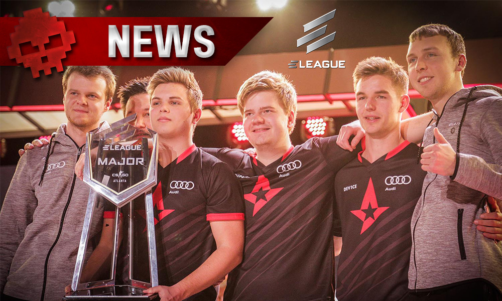 CS: GO - ELEAGUE Major : les Astralis remportent l'événement !
