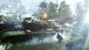 Battlefield V - Les tanks en action