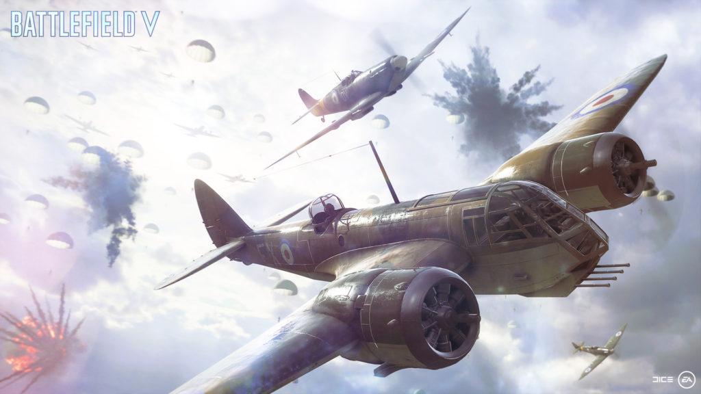 Battlefield V - Les avions en pleine bataille