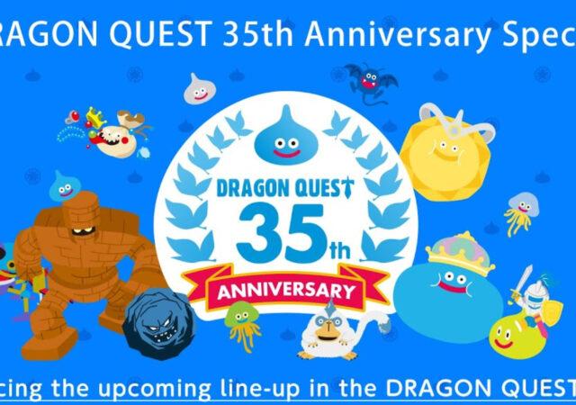 Dragon quest stream 35 ans