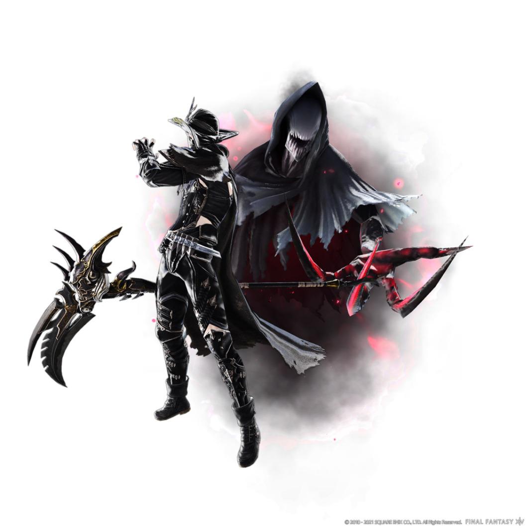 FF XIV Endwalker Reaper artwork 2