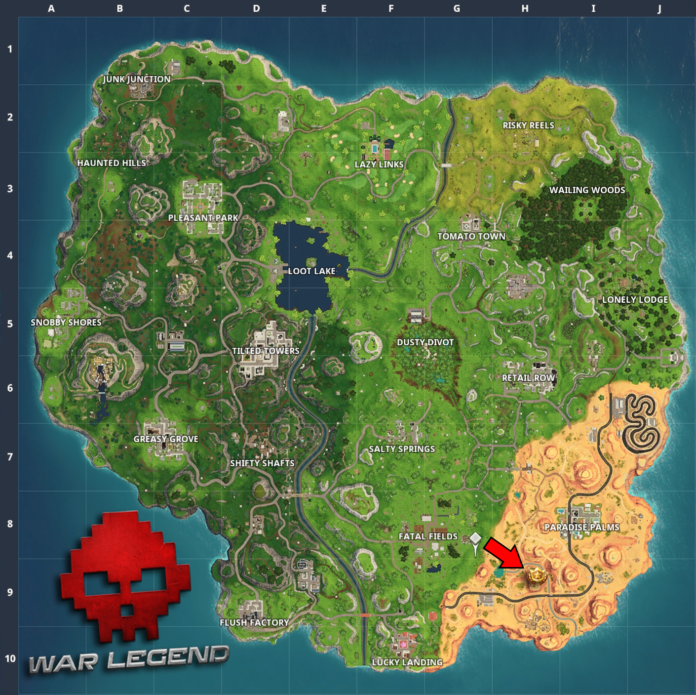 Emplacement carte BattleStar