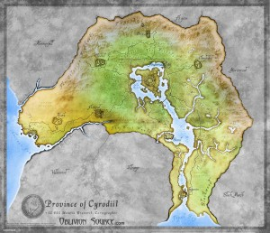Cyrodiil The Elder Scrlls Online