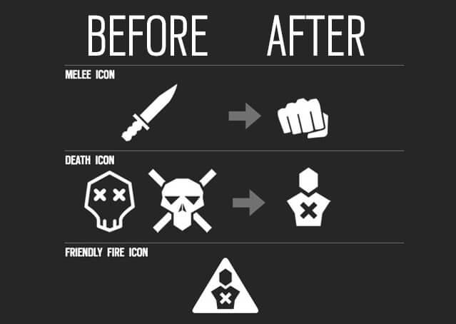 icône Rainbow Six: Siege avant et après censure
