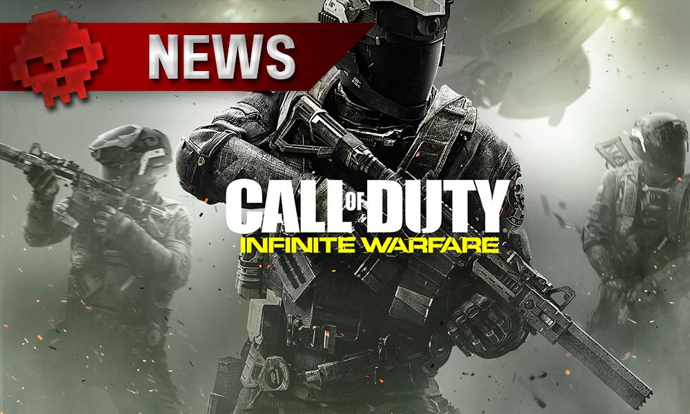 COD: Infinite Warfare - Le jeu est dans le top 3 des ventes au Japon