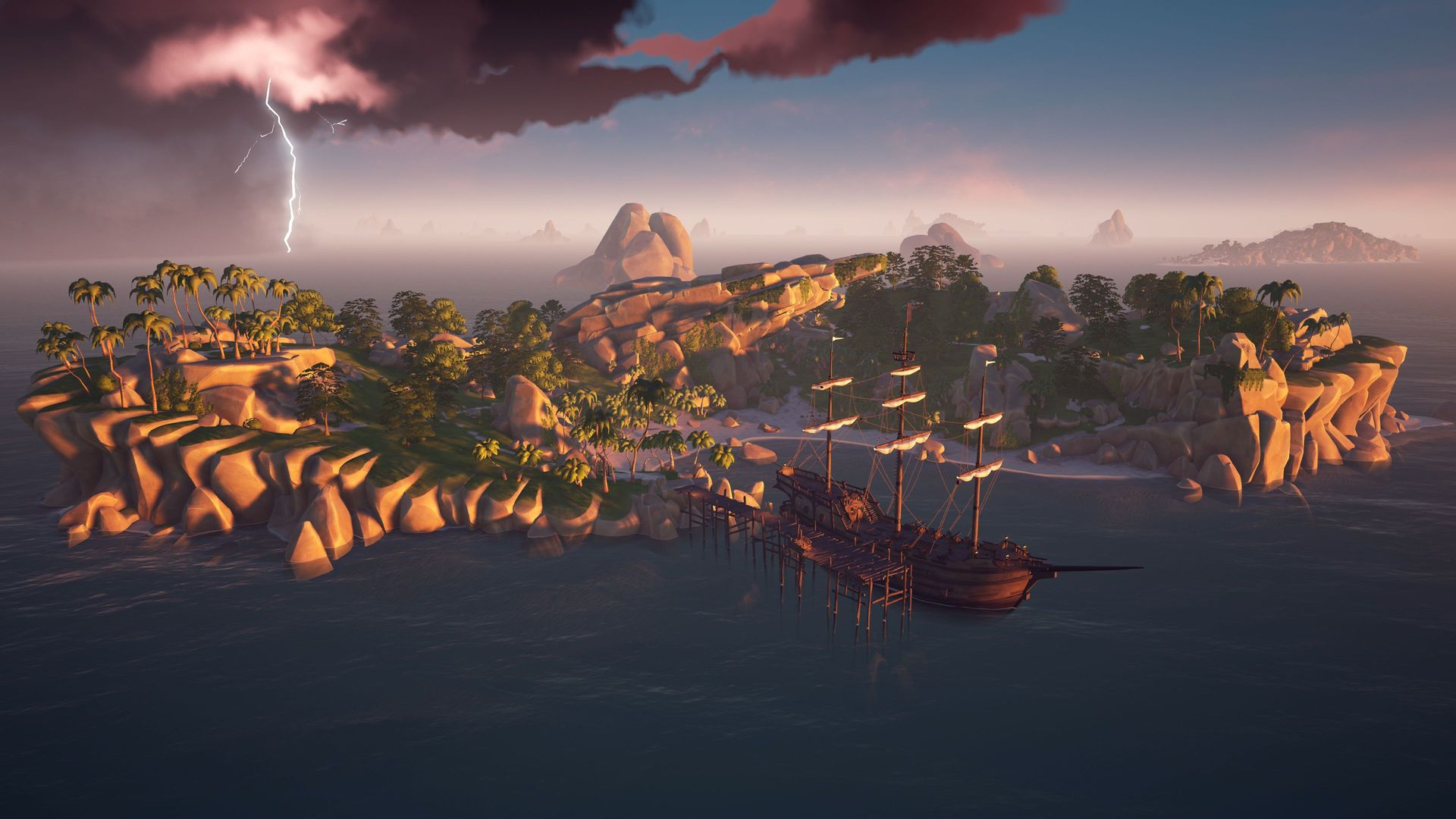 Une île perdue