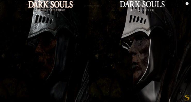 Comparaison Dark Souls PC et Dark Souls Remaster PS4 Pro texture