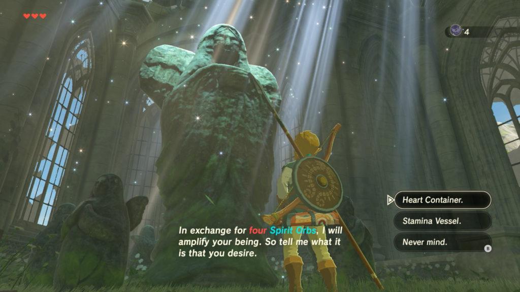 Guide The Legend of Zelda: Breath of the Wild – Les bons réflexes pour bien démarrer statue