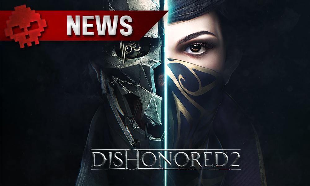 Dishonored 2 - Bientôt une démo gratuite pour les deux assassins - visage avec une partie robot et une partie humaine