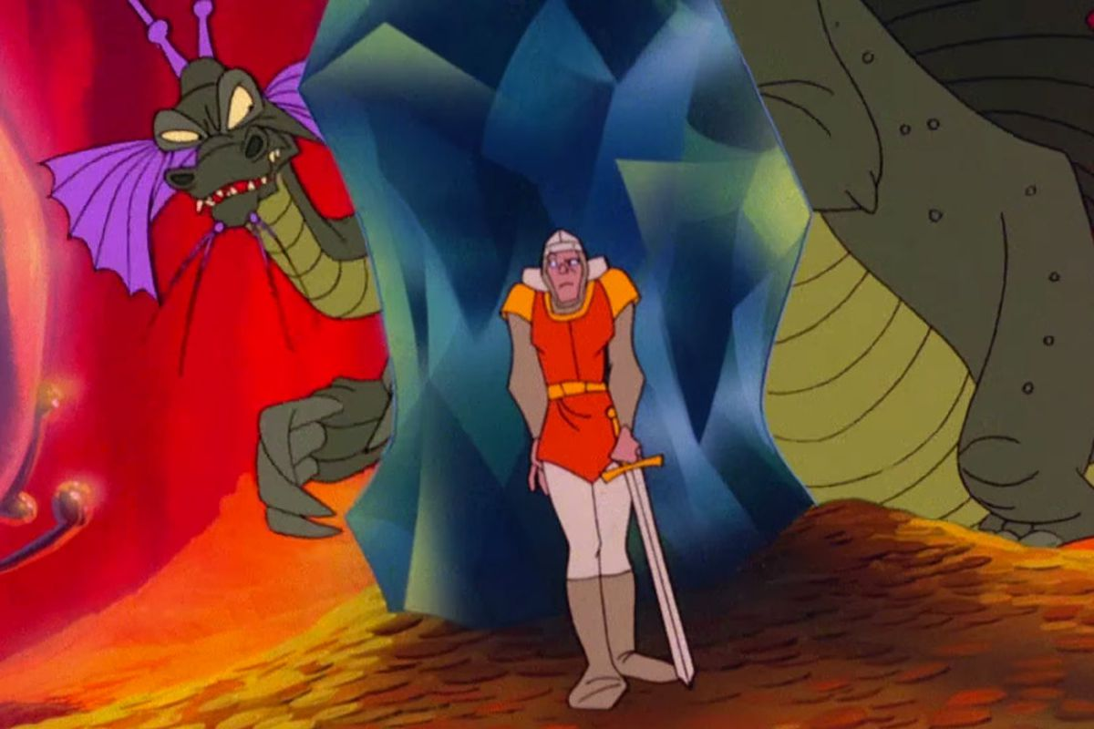 Dragon's lair image gameplay