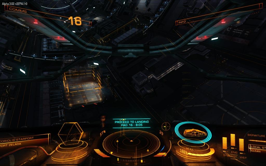 Objectif: ne pas se crasher comme un étron sur le pad.