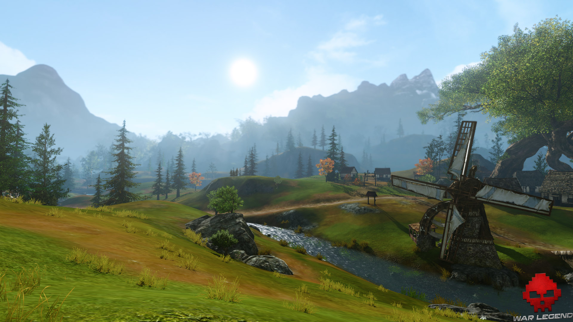 archeage unchained paysage idyllique