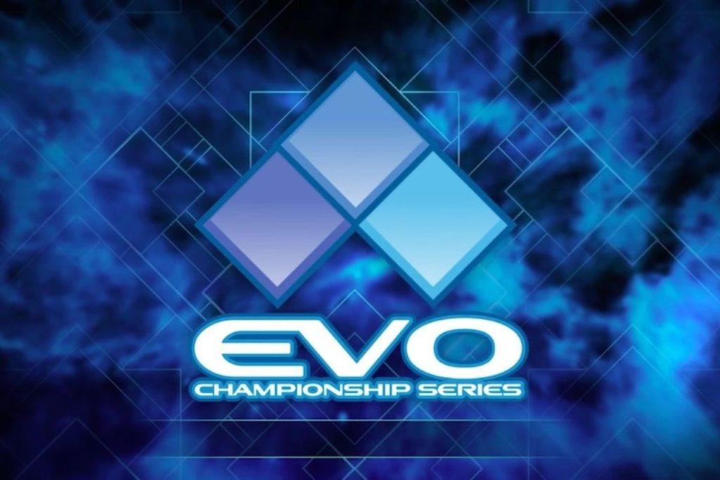 Logo de l'EVO, rendez-vous incontournable des jeux de combats