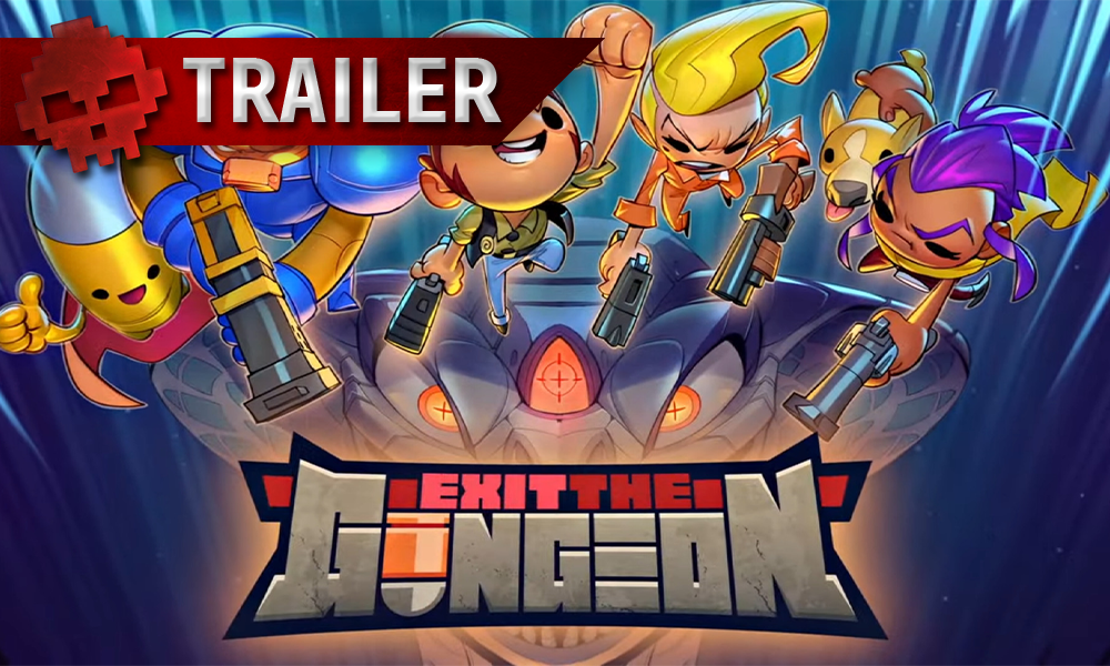 Exit The Gungeon Vignette Trailer