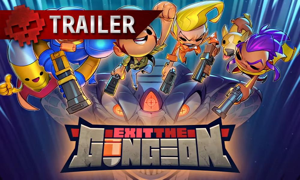 Exit The Gungeon Vignette Trailer