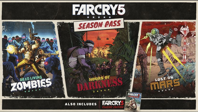 Far Cry 5 présente son season pass