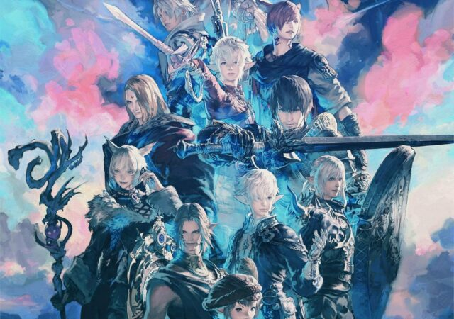 final-fantasy-xiv endwalker artwork akihiko yoshida