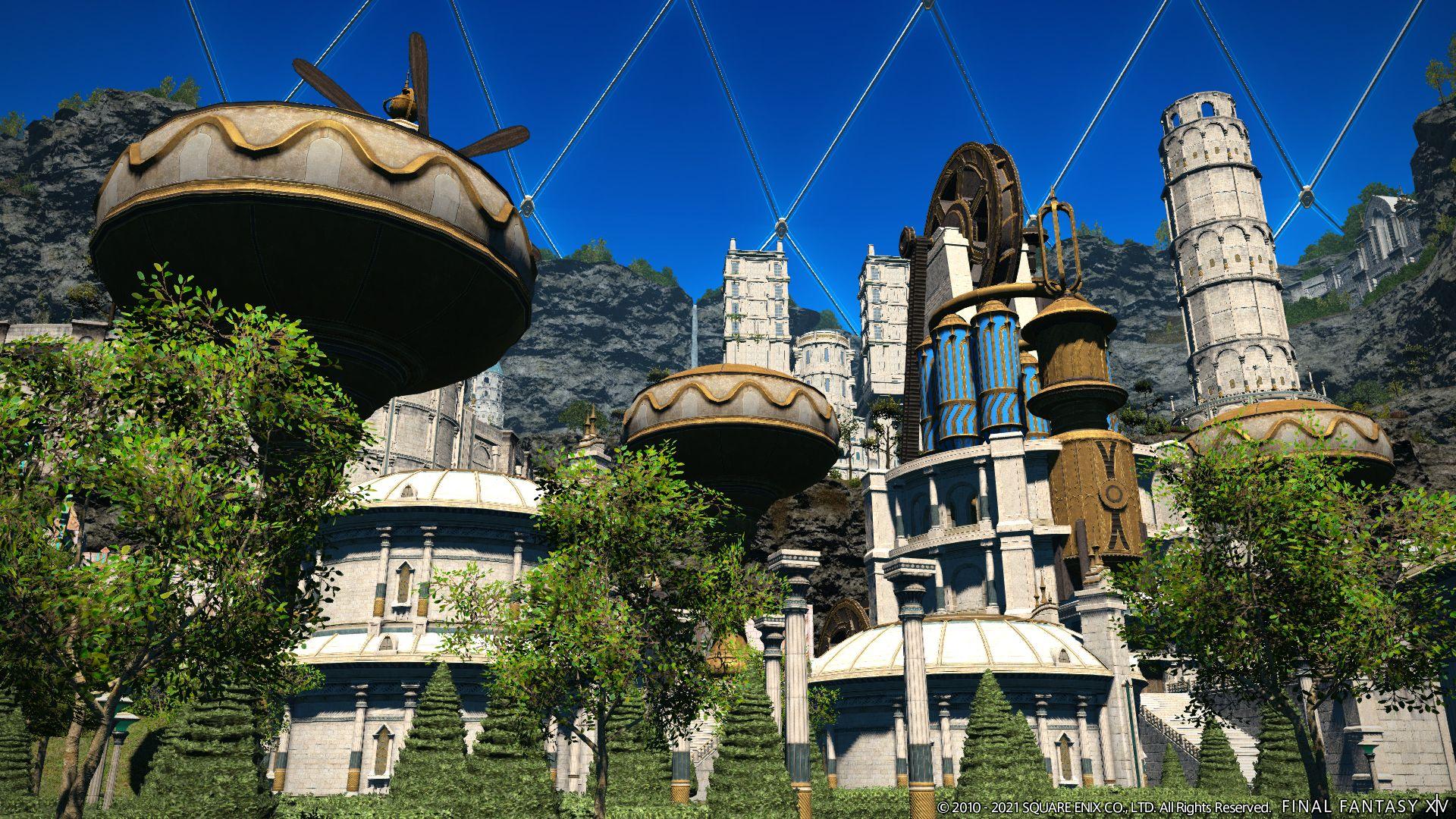 FF XIV ville Labyrinthos