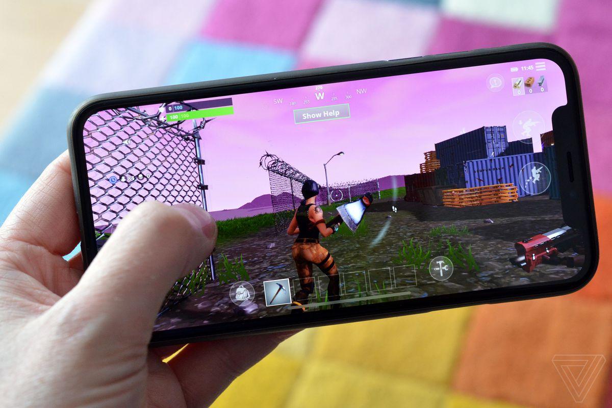 Fortnite IPhone X